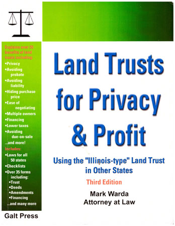 Land Trusts for Privacy & Profit